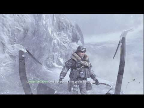 04. Call of Duty: Modern Warfare 2 - HD Veteran Difficulty Walkthrough - Cliffhanger Part 1/2