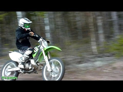 Kawasaki KX 250 FMF Gnarly - Sweet 2-Stroke Sound Compilation