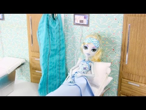 How to Make a Doll Hospital Room