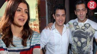 Anushka Sharma Talks About Katrina-Exclusive | Salman Khan Takes Tips From Aamir Khan - ZOOMDEKHO