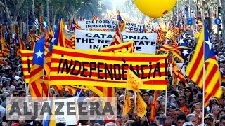 Spain's Catalan regional government risks suspension or jail over secession bid - ALJAZEERAENGLISH