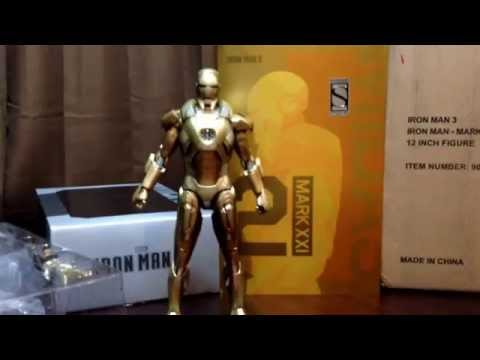 Hot Toys 1/6 Iron Man MARK XX1 MIDAS SSC Exclusive Movie Masterpiece MMS208