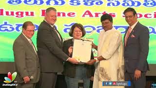 US Government honours Rajendra Prasad with Life Time Achievement Award - IGTELUGU