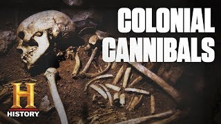 Jamestown Settlers Ate The Dead to Survive | Dark History - HISTORYCHANNEL