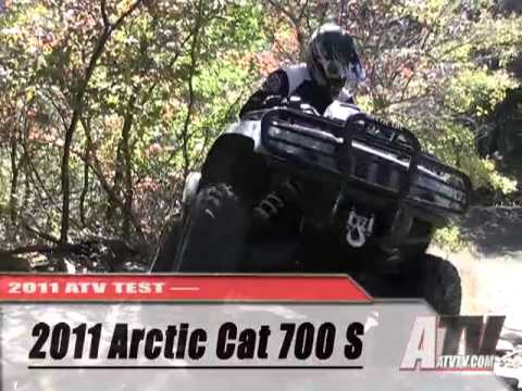 ATV Television Test - 2011 Arctic Cat 700 S