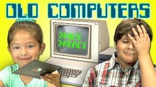 Niños opinan acerca de las primeras computadoras