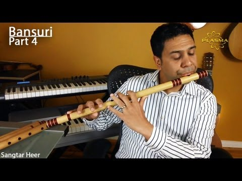 Learn to Play Bansuri - Part 4 - Playing Scales with Key Change - Theory