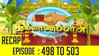 Kalyana Parisu Episode 498 to 503 Recap of This Week's Episodes – Sun TV Serial