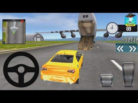 Modern Car Transporter Plane 2018 | #yz Car Simulator 3D Android GamePlay FHD
