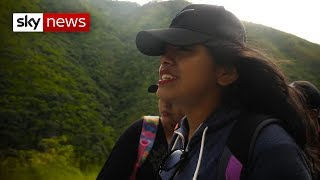 Sky News gains exclusive access to young migrants' journey to the US with smugglers - SKYNEWS