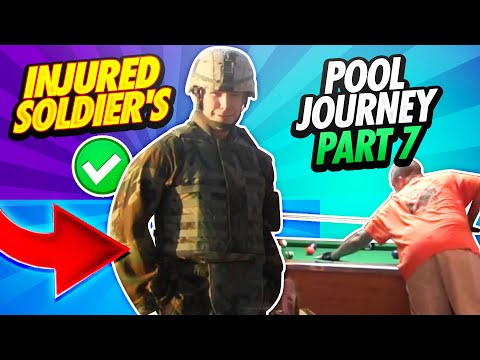 14 Days - The Great Pool Experiment Reno, Nevada - Sgt. Robert Evans, US Army (RET) - Day 6