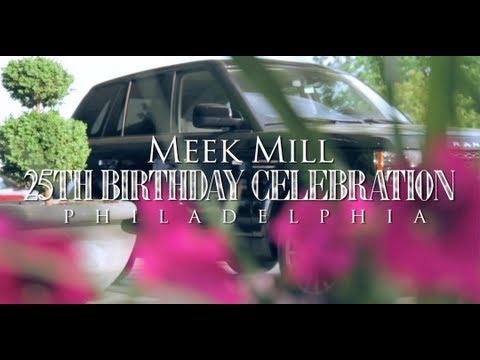 Meek Mill 25th Birthday Celebration in Philadelphia (Gets 2012 Range Rover from Rick Ross)