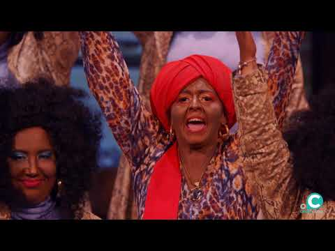 Sesión de Semifinales, la agrupación El barrio negro actúa hoy en la modalidad de Coros.