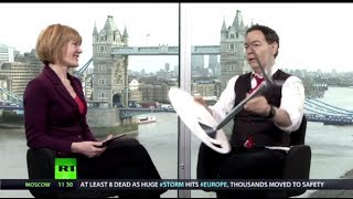 Keiser Report: Downing Street Pantomime (E533) - RUSSIATODAY