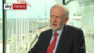 Jeremy Corbyn says Labour Party won't rule out 'remain' option in second vote - SKYNEWS