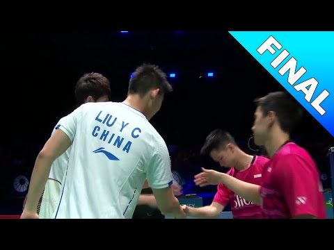 Yonex All England Open 2017 | Badminton F | Li/Liu vs Gid/Suk [HD]