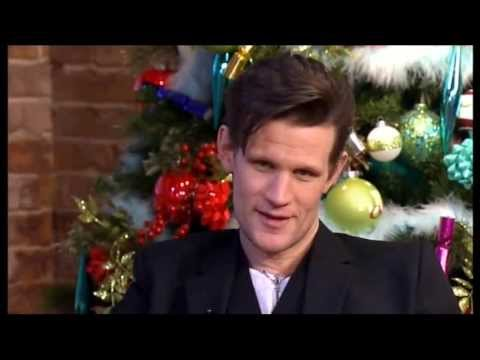 Matt Smith Interview (This Morning 18th Dec 2012)