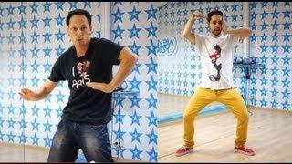 Уроки танцев: 2 танцевальные связки  from Dragon & Loony Boy!
