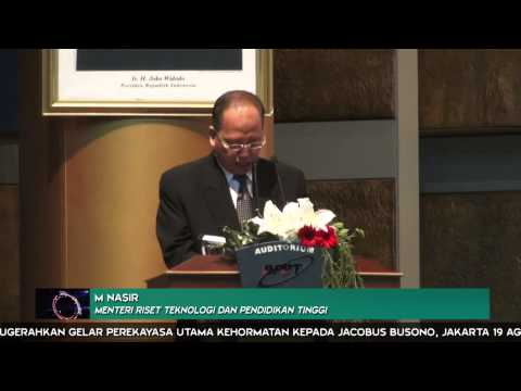 BPPT Anugerahkan Gelar Perekayasa Utama Kepada Jacobus Busono