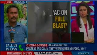 Pasengers refuse due to rain; delay due to technical issue, clarifies Air Asia - NEWSXLIVE