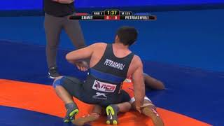 PWL 3 Day 8: Sumit And Geno Petriashvili at Pro Wrestling League 2018 | Highlights - ITVNEWSINDIA