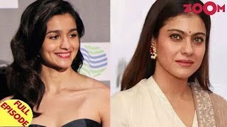 Alia gives a hard-hitting reply to Kangana | Kajol denies speaking on Alok Nath controversy & more - ZOOMDEKHO