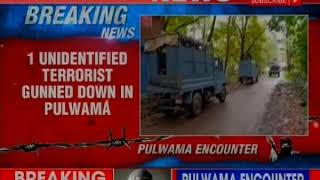 Jammu and Kashmir: One unidentified millitant killed during encounter b/w militants & joint force - NEWSXLIVE