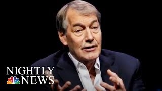 Charlie Rose Accused Of Sexual Misconduct By 8 Women | NBC Nightly News - NBCNEWS