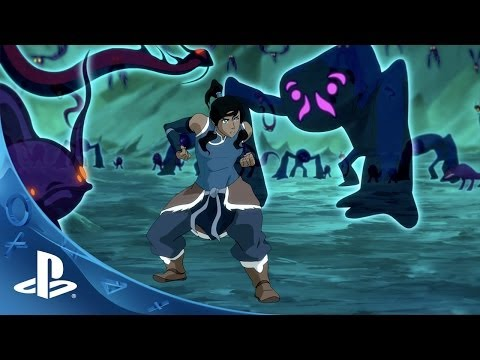 The Legend of Korra Video Game Announce Trailer | PS4 & PS3