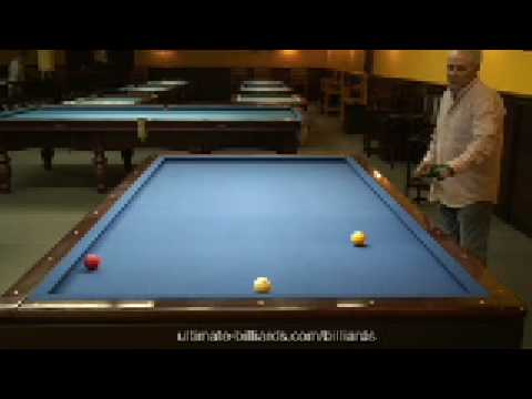 Basic Shots of 3 Cushion Billiards