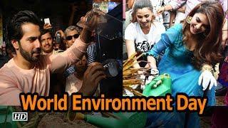 Go Green & Clean with Varun & Jacqueline | World Environment Day - IANSINDIA