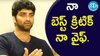 నా బెస్ట్ క్రిటిక్ నా వైఫ్.. - Bharatwaj || Soap Stars With Anitha - IDREAMMOVIES