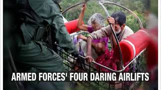 Kerala Floods: Four daring Airlifts by our Armed force - NEWSXLIVE