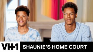 Shaqir Schools Shareef on Trick Shots | Shaunie's Home Court - VH1