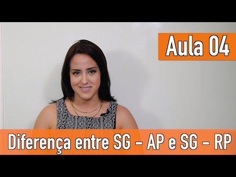 Imagem post: Aula 04 – Diferenças entre o SG – AP e RP