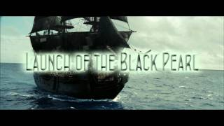 Royalty Free :Launch of the Black Pearl