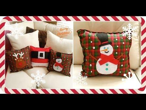 DIY cojines navideños (paso a paso)