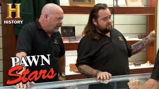 Pawn Stars: The Iwo Jima Memorial Sketch | History - HISTORYCHANNEL