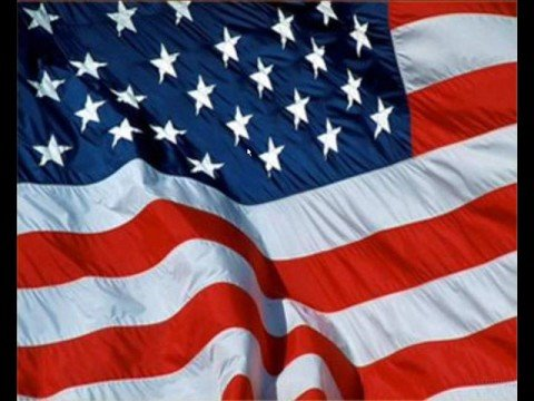 USA national anthem (with lyrics)