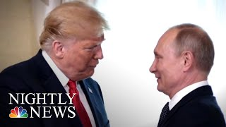 President Donald Trump Invites Vladimir Putin For One-On-One At White House | NBC Nightly News - NBCNEWS