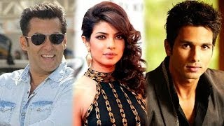 Salman Khan 'gifts' his watch, Shahid Kapoor and Priyanka Chopra to work together & others