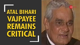 India prays for Atal Bihari Vajpayee: Ex-PM critical, on life-support system - ZEENEWS