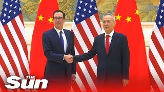 New round of U.S.-China trade start Tuesday - THESUNNEWSPAPER