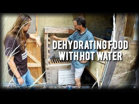 Permaculture Tip of the Day - Dehydrating Food with Hot Water