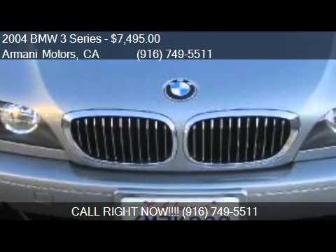 2004 BMW 3 Series 325Ci coupe for sale in Roseville , CA 956