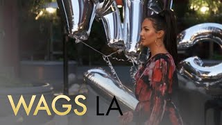 WAGS LA | Olivia Pierson & Natalie Halcro Struggle With Party Balloons | E! - EENTERTAINMENT