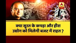 Jan Man Dhan: Textile and diamond industries to get tax rebate in Budget 2018-2019? - ABPNEWSTV