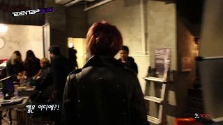 "TEEN TOP On Air - TEEN TOP 2014 World Tour ""HIGH KICK"" VCR 촬영 현장"