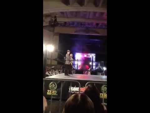Fan Cam: Savannah Summers Entrance @ Zero 1 Wrestling