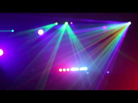 Electro Glow UV rave promo video